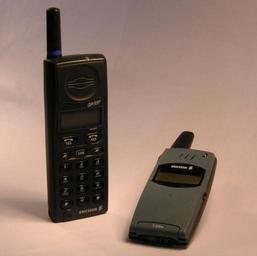 Starší typ mobilu