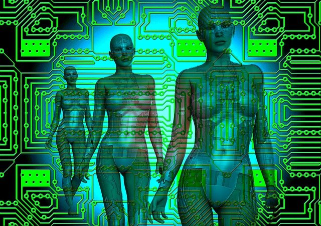 ženy robotky