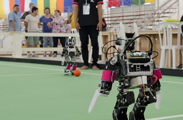 fotbal robotů