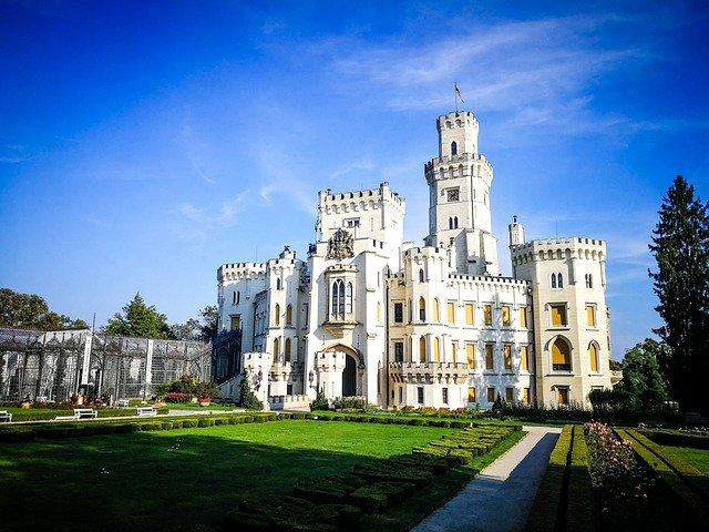 zahrada zámku